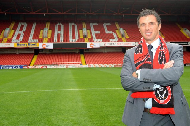 Gary Speed was a player and manager at Sheffield United - Anna Gowthorpe/PA Wire