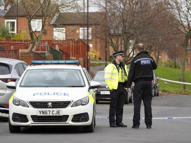 The scene of a shooting on Grimesthorpe Road South, Burngreave, last year, where a man was killed