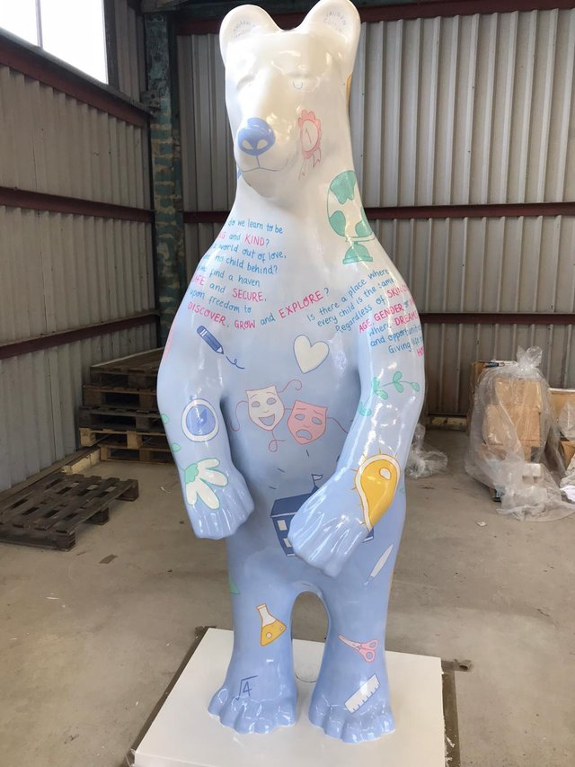 Twinkl will be represented on the trail with their own large bear too!