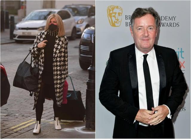 Kate Garraway and Piers Morgan