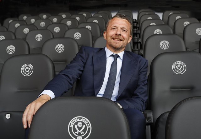Slavisa Jokanovic, the Sheffield United manager: Darren Staples / Sportimage