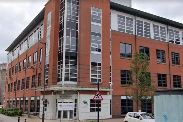 Irwin Mitchell offices in Sheffield's West Bar.