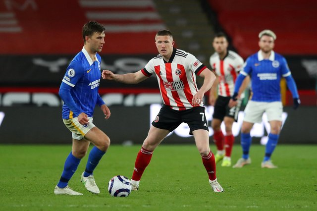 John Lundstram is a free agent after leaving Sheffield United and has been linked with Rangers: Simon Bellis / Sportimage