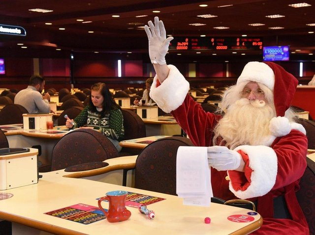 Will Santa score a full house at the Junemas festive celebration at Mecca Bingo, Sheffield?