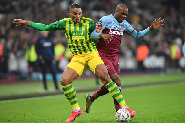 West Bromwich Albion's Danish striker Kenneth Zohore has been linked with a move to Sheffield Wednesday.