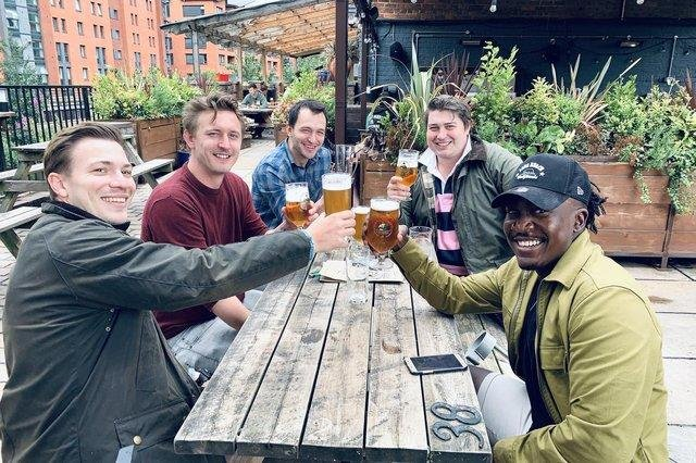 Pub goers in Sheffield won't have to sit freezing in a beer garden to enjoy a pint from Monday.