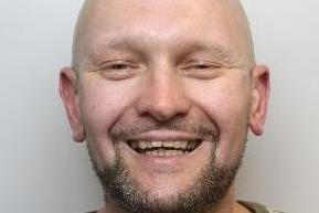 Pictured is Martin Wilson, aged 38, of Monsal Crescent, Athersley South, Barnsley, who was found guilty after a trial of murdering Stephen Riley who had died after suffering two stab wounds during the evening of June 26.