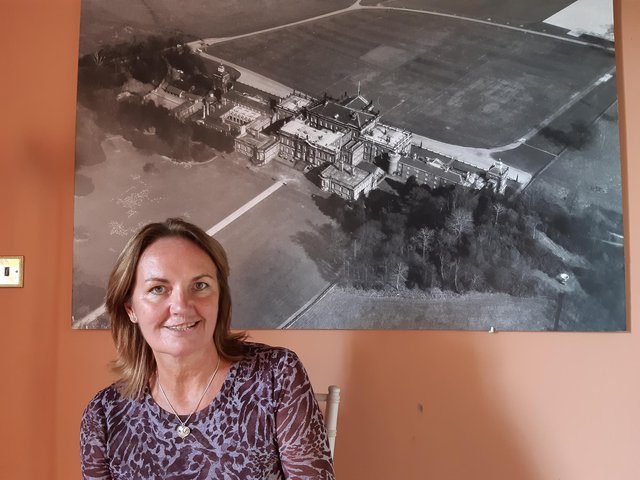 Sarah McLeod, chief executive of Wentworth Woodhouse Preservation Trust.