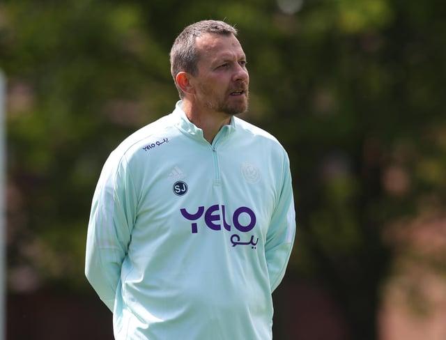 Slavisa Jokanovic in his new Sheffield United kit: Simon Bellis / Sportimage