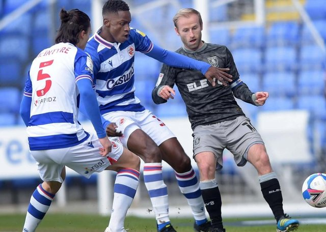 Barry Bannan was taken off after 32 minutes in Sheffield Wednesday' 3-0 defeat at Reading.