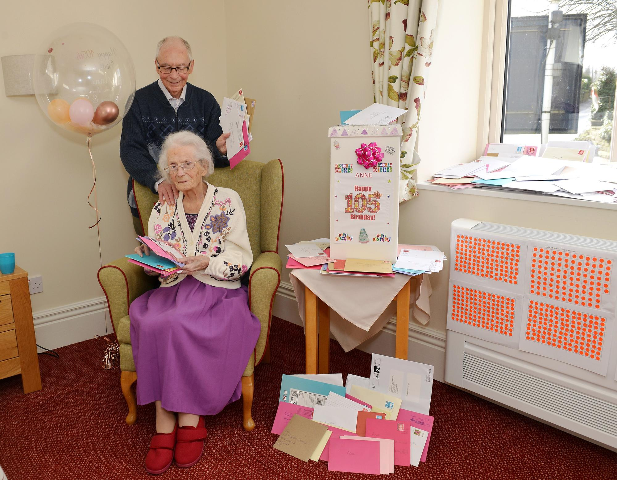 Birthday Card Appeal For Sheffield Centenarian Met With
