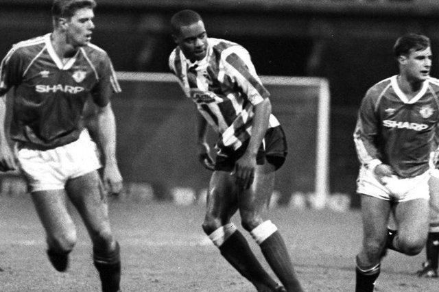 Dalian Atkinson made 38 appearances for Sheffield Wednesday - he was tragically killed in 2016.