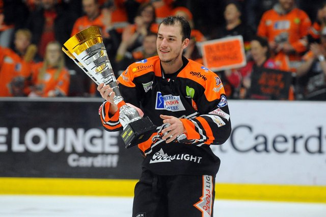 Tanner Eberle is back at Sheffied Steelers for the EIHL mini-series