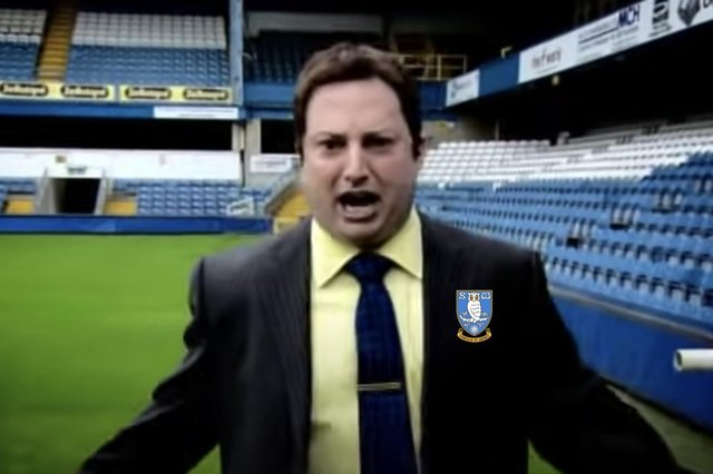 David Mitchell's character in a Mitchell & Webb sketch perfectly sums up the exhaustion of the current football season. (Image courtesy of BBC YouTube)