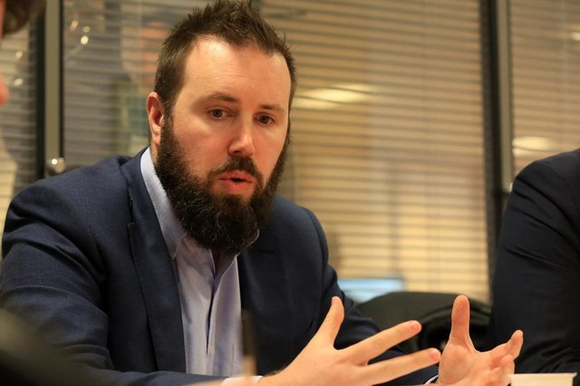 Edward Highfield, director of of City Growth at Sheffield City Council.