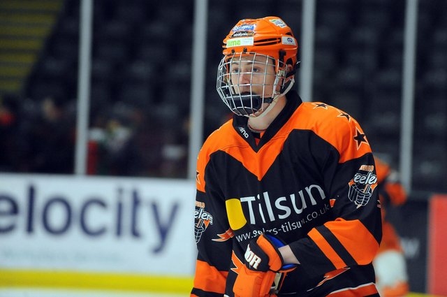 Alex Graham in Sheffield Steelers colours. Picture: Dean Woolley