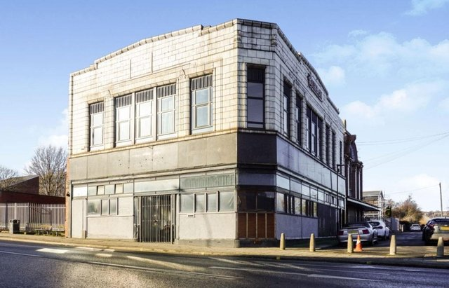 The former Burton building on Attercliffe Road.