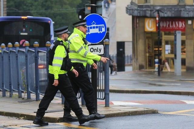Concern has been expressed that police officers in South Yorkshire are facing some of the busiest times in policing in years