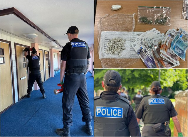 Organised crime gangs operate in most communities in Sheffield