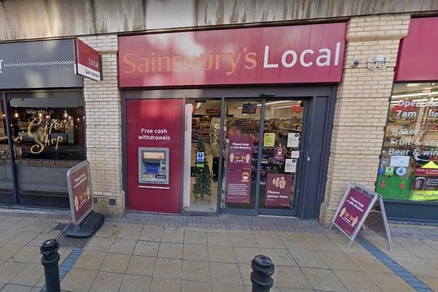 Sainsbury's on Division Street