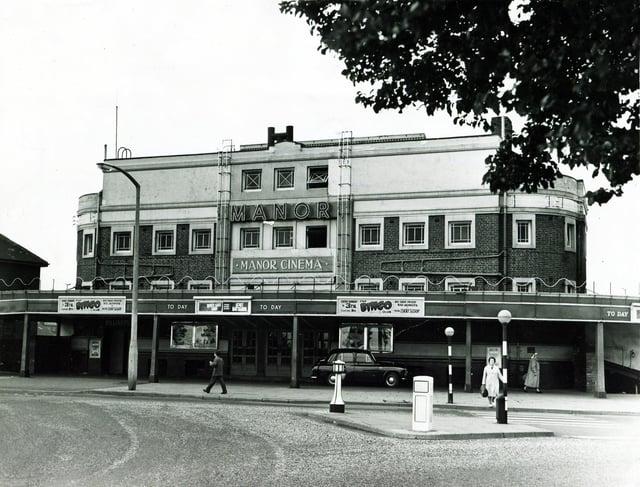 The Manor Cinema, Manor Top, Sheffield, in 1976