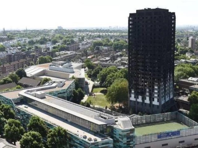 The Grenfell disaster took place on June 14, 2017