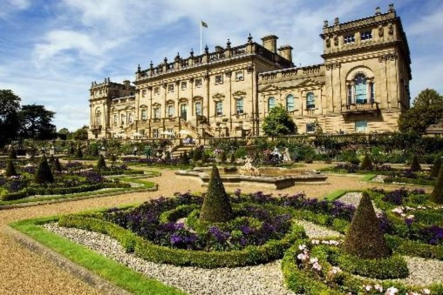 Harewood House in Leeds, the stately setting for the first open-air performances of Mamma Mia!