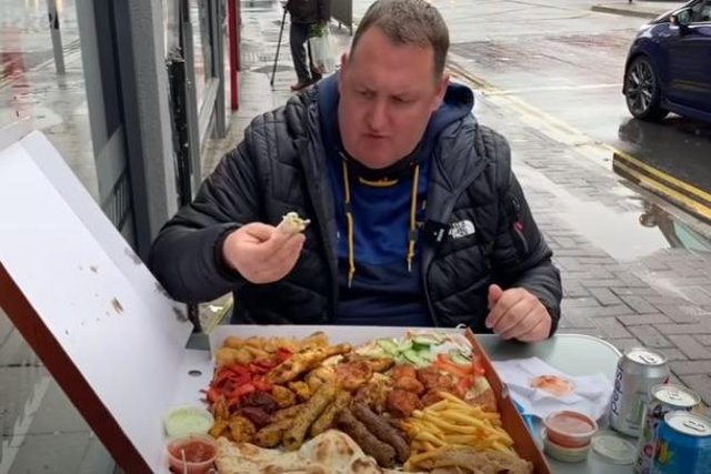 Rate My Takeaway's Danny Malin has visited Kebabish Express in Sheffield to try the family sharing box. Picture: Danny Malin