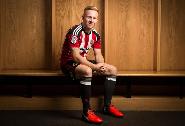 Mark Duffy is a double Sheffield United promotion hero: Sportimage