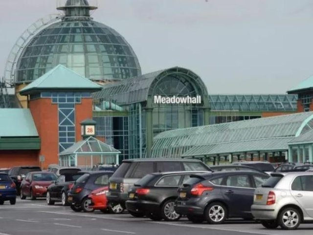 A man was detained after he was apprehended by an off-duty police officer for attempting to steal jewellery from a shopper at Meadowhall