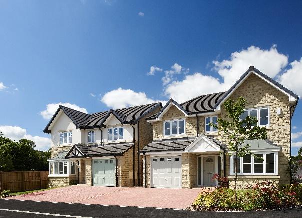 A typical Jones Homes development
