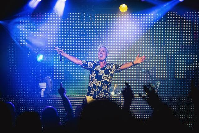 Martin Kemp at one of his Back to the 80s nights