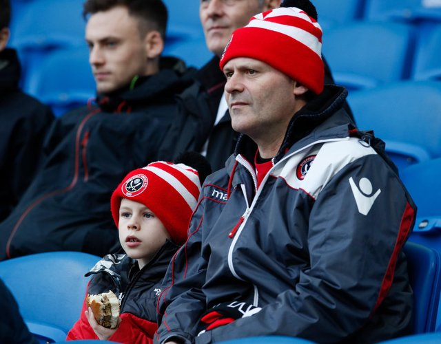 Some Blades fans feel that the current loyalty points system is unfair on younger Blades: Simon Bellis/Sportimage