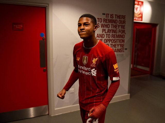 Rhian Brewster of Liverpool could be heading for Sheffield United