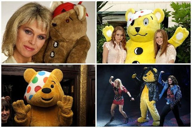 Pudsey Bear is the iconic mascot for BBC's annual fundraising event, Children in Need