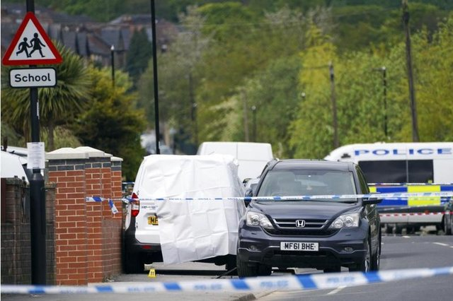 Violence flared on Earl Marshal Road, Fir Vale and Kirton Road, Pitsmoor, on the same night