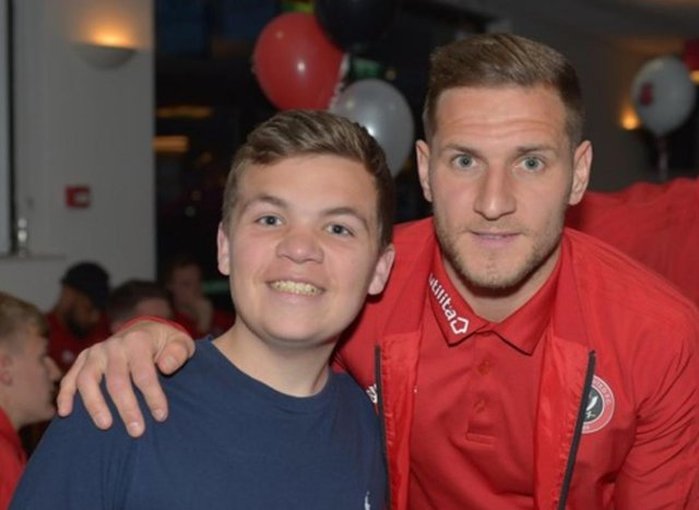 Reece Winterbottom was a big Sheffield United fan and got to meet the players just a few weeks before he died