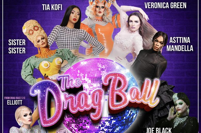 Stars of The Drag Ball in Sheffield