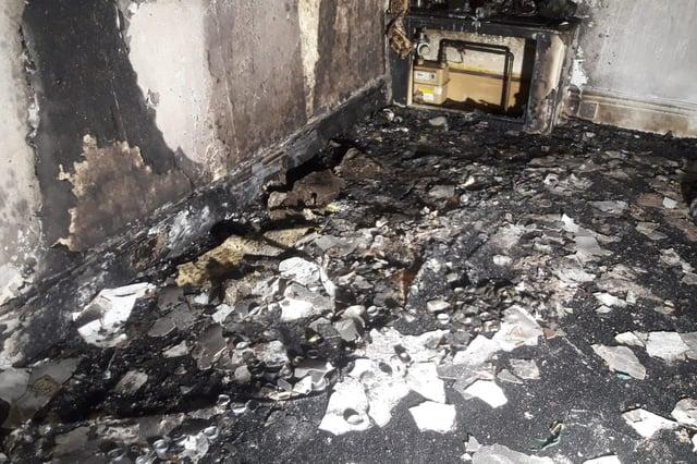 Fire in Sheffield - Credit: SYFR