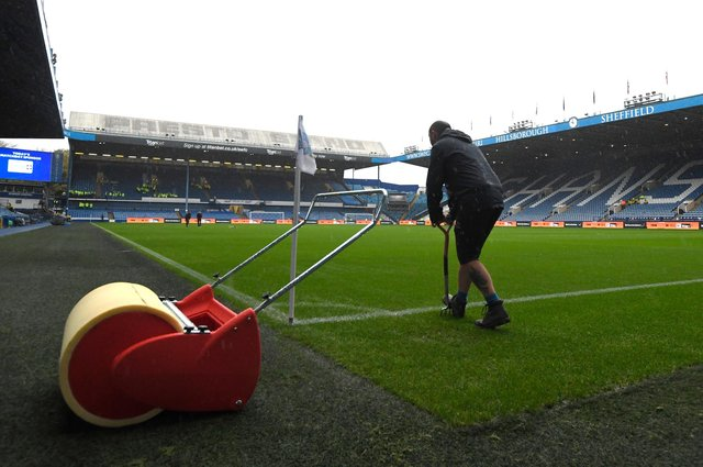 The pitch at Hillsborough will undergo end-of-season renovation work.