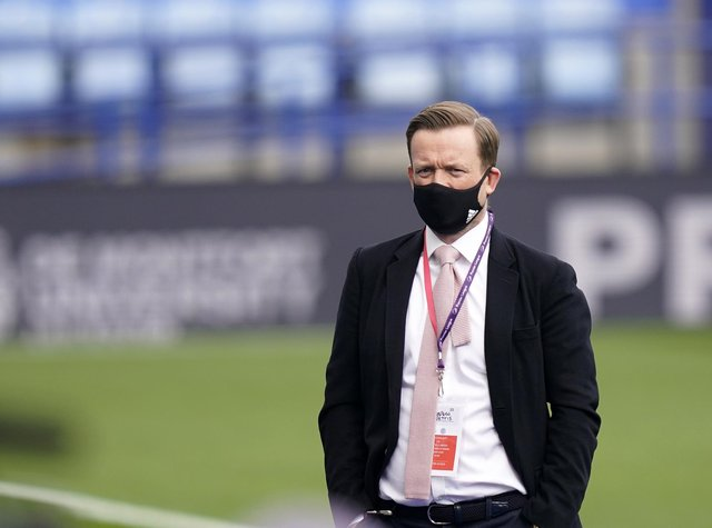 Sheffield United's chief executive Stephen Bettis.