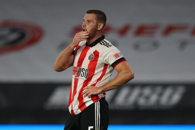 Jack O'Connell missed all but two of Sheffield United's matches last season as the Blades went down. Simon Bellis/Sportimage
