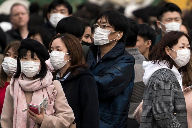 Hate crimes committed against victims whose appearance was Chinese, Japanese or South East Asian has nearly tripled in the first three months of this year. (Photo by Tomohiro Ohsumi/Getty Images)