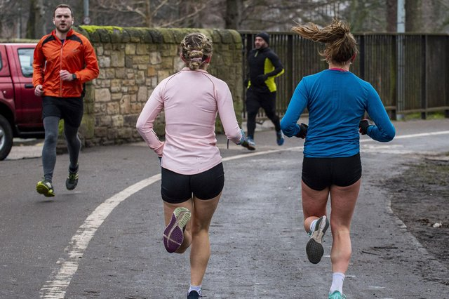 Runners have been made to feel 'targeted' by the opinon of experts