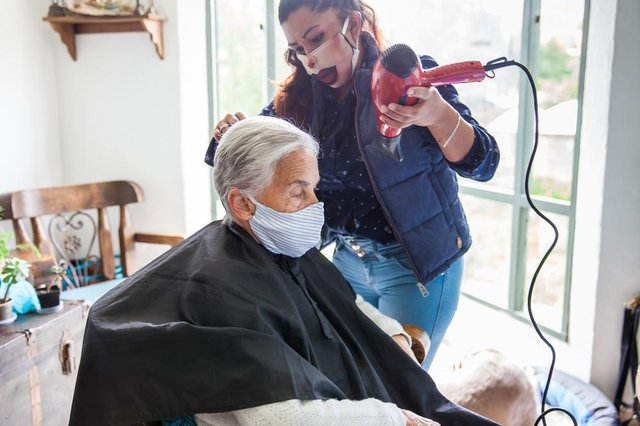 Hairdressers and barber shops in tier 3 areas are currently able to remain open, with mobile hair and beauty businesses also able to operate (Photo: Shutterstock)
