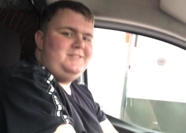 Jordan Caster, 19 was killed in the M1 crash last Sunday