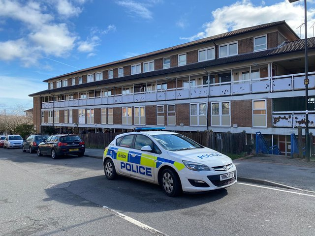 There was police activity in Burngreave yesterday as part of an investigation into a child abduction on Sunday