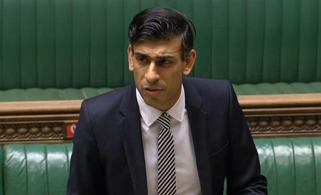 Chancellor of the Exchequer Rishi Sunak. Photo credit should read: PA Wire