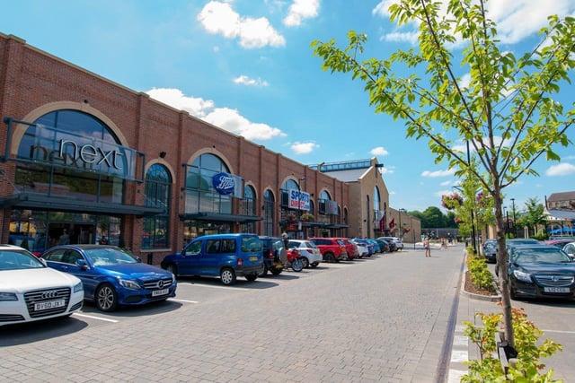 Fox Valley shopping centre in Stocksbridge.