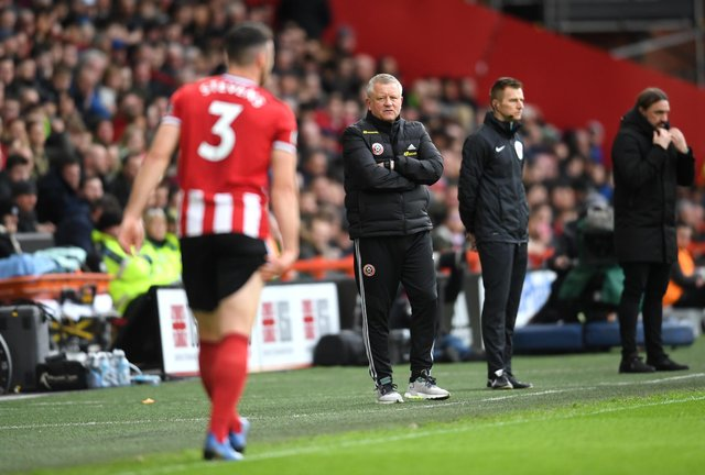 Sheffield United manager Chris Wilder completed his first full day in charge of the club four years ago today: Ross Kinnaird/Getty Images